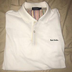 Like new White Paul Smith London Polo Shirt